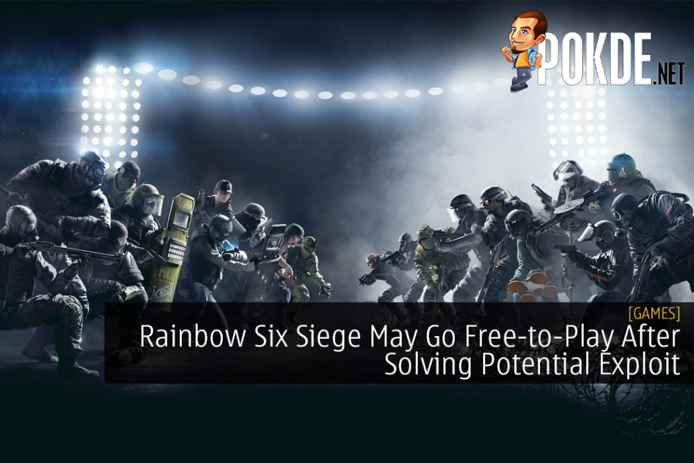Rainbow Six Siege May Go Free-to-Play After Solving Potential Exploit