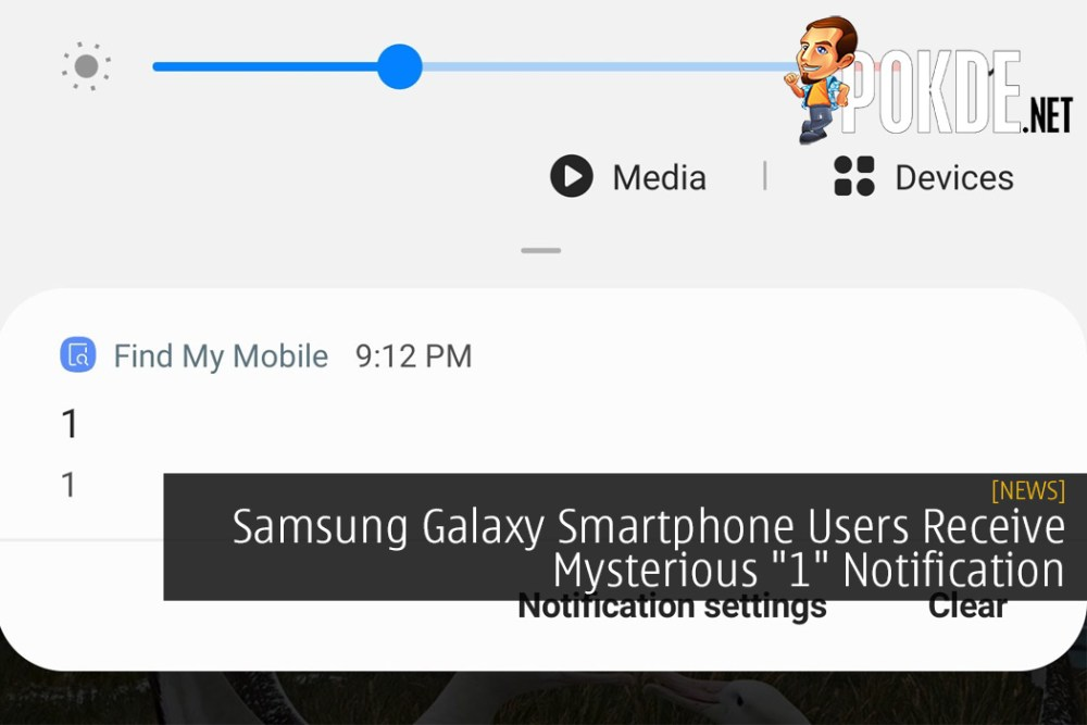 """Samsung Galaxy Smartphone Users Receive Mysterious """"1"""" Notification - A Teaser?"""