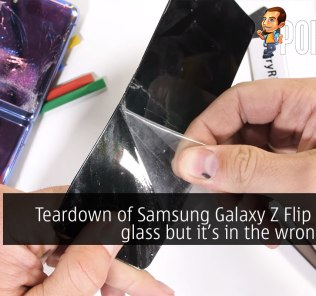 Teardown of Samsung Galaxy Z Flip reveals glass but it's in the wrong place 24