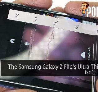 The Samsung Galaxy Z Flip's Ultra Thin Glass isn't... glass? 25