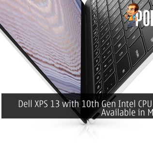 Dell XPS 13 with 10th Gen Intel CPU is Now Available in Malaysia For a Whopping Price 26
