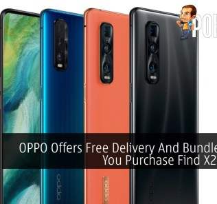 OPPO Offers Free Delivery And Bundle When You Purchase Find X2 Pro 5G 40