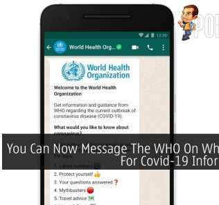 You Can Now Message The WHO On WhatsApp For Covid-19 Information 29