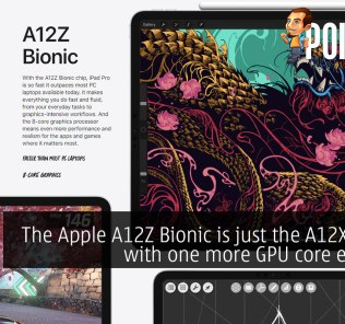 The Apple A12Z Bionic is just the A12X Bionic with one more GPU core enabled 25