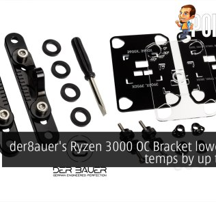 der8auer's Ryzen 3000 OC Bracket lowers CPU temps by up to 10°C 42