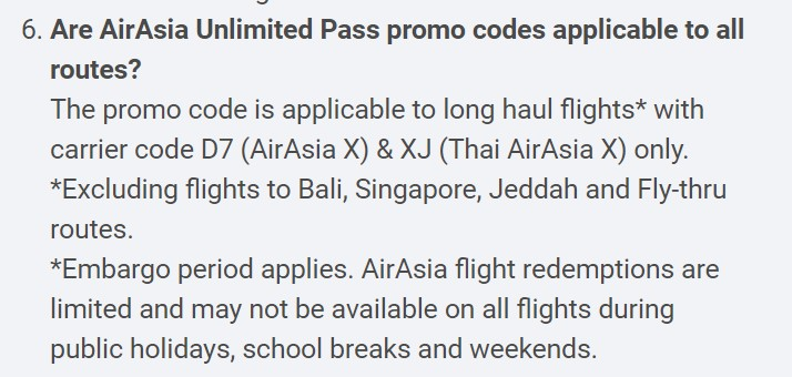 [UPDATED] AirAsia Unlimited Pass Has 4 Odd Limitations That You Need to Know About 35