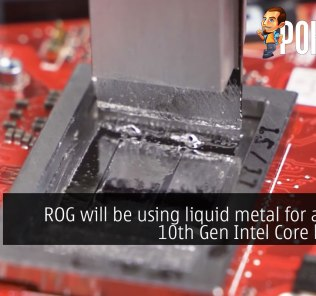 rog liquid metal 10th gen intel laptop cover