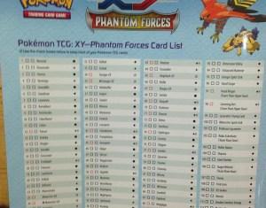 Phantom Forces Card List