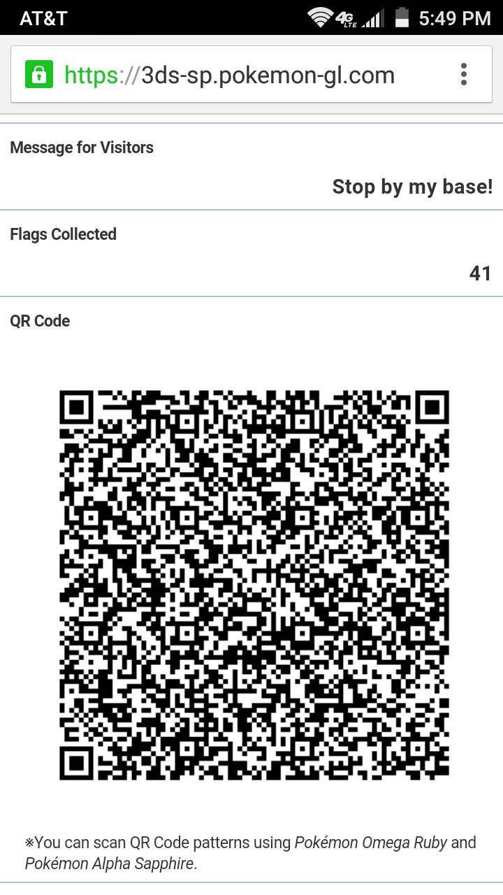 secret bases qr codes