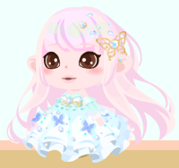 桜人魚姫コーデ