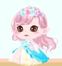 なーちゃんカラードレス3