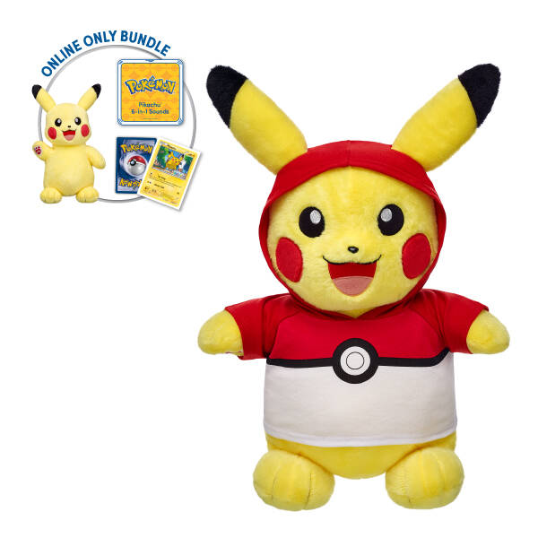 Build a Bear pikachu