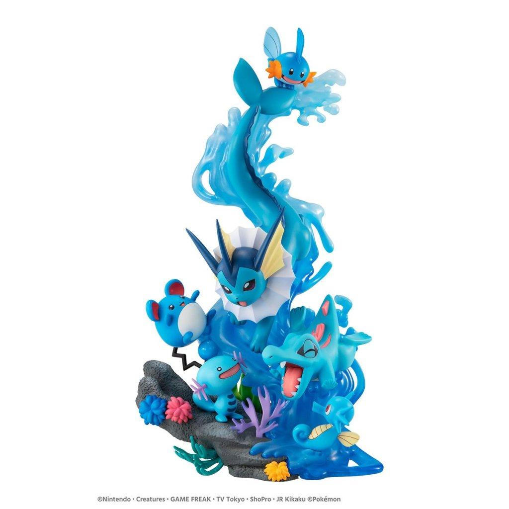 GEM EX dive on blue
