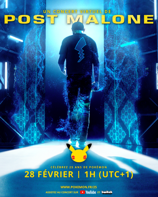 Post Malone concert Pokémon