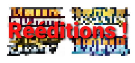 Rééditions cartes Pokémon