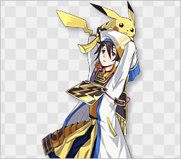 Hanbei & Pikachu
