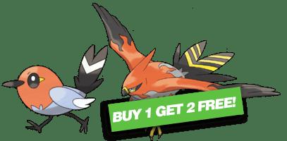 fletchling-talonflame-pokemart