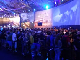 One out of two BF4 waiting lines