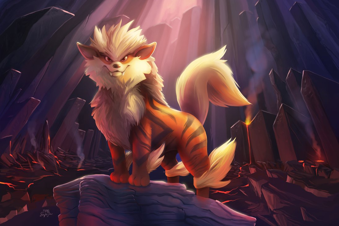Art appreciation gen 1 pok catch the - Arcanine pics ...