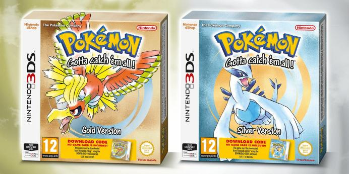 Pokémon Gold & Silver Packaged Versions