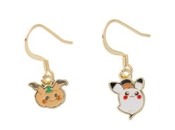 Halloween 2017 Earrings - coming to Pokémon Centers September 2nd!