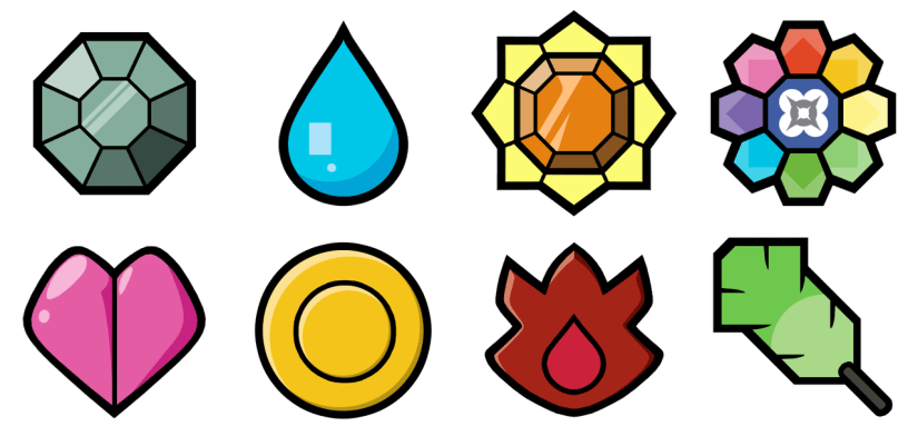 Kanto Gym Badges