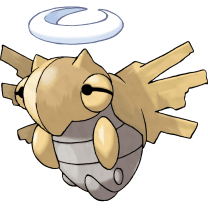 Shedinja official art