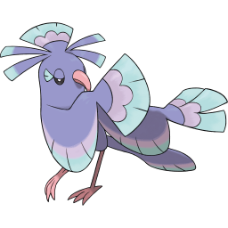 Oricorio (Sensu) official art