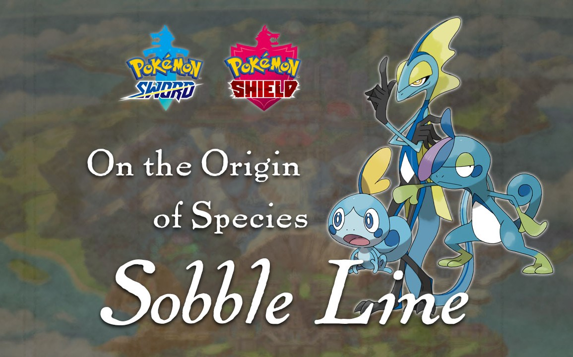 Learn about the inspiration behind Sobble and its evolutions