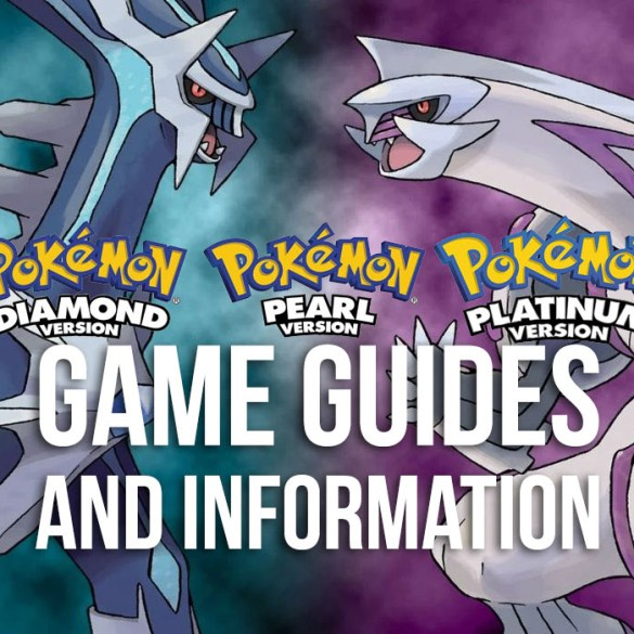 Pokémon Diamond, Pearl & Platinum Guides and Information