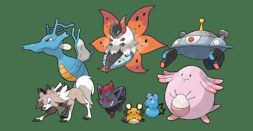 Returning Pokémon in The Isle of Armor
