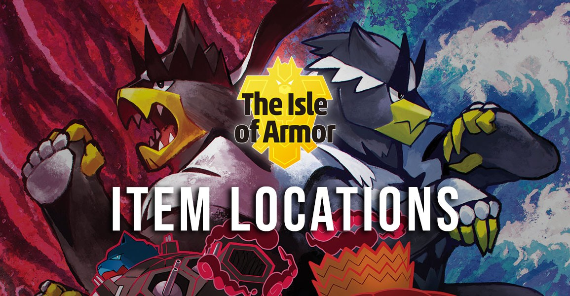 Item locations in the Isle of Armor