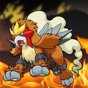 Entei trademarked in Japan