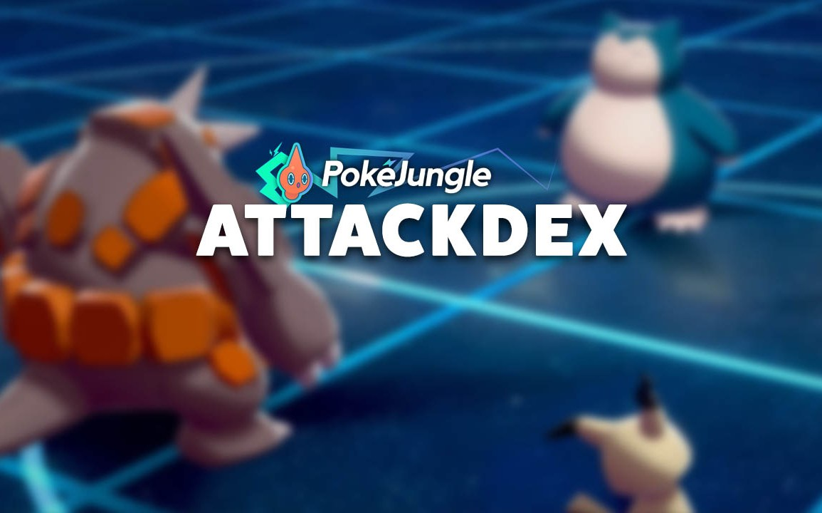 Pokémon Attackdex: Move damage, accuracy and information