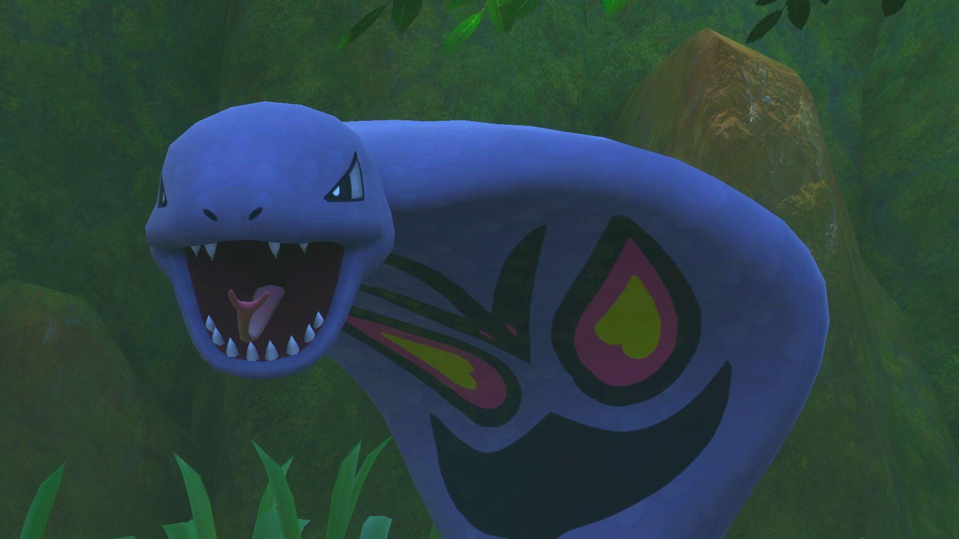 Arbok in New Pokémon Snap