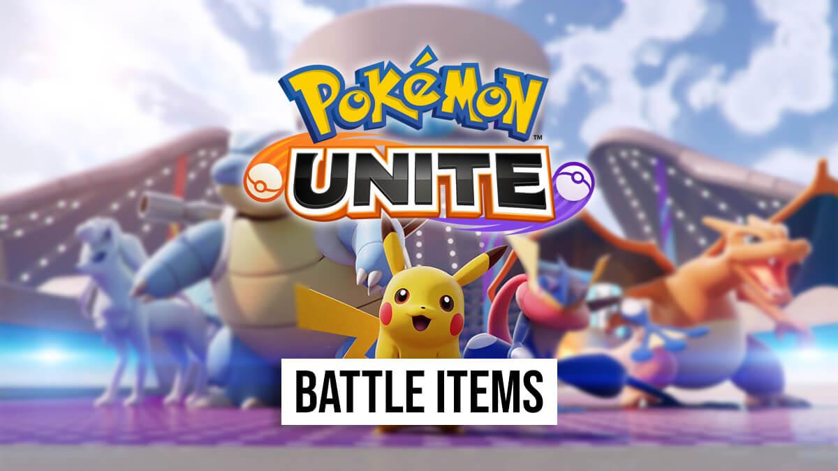 List of battle items in Pokémon UNITE