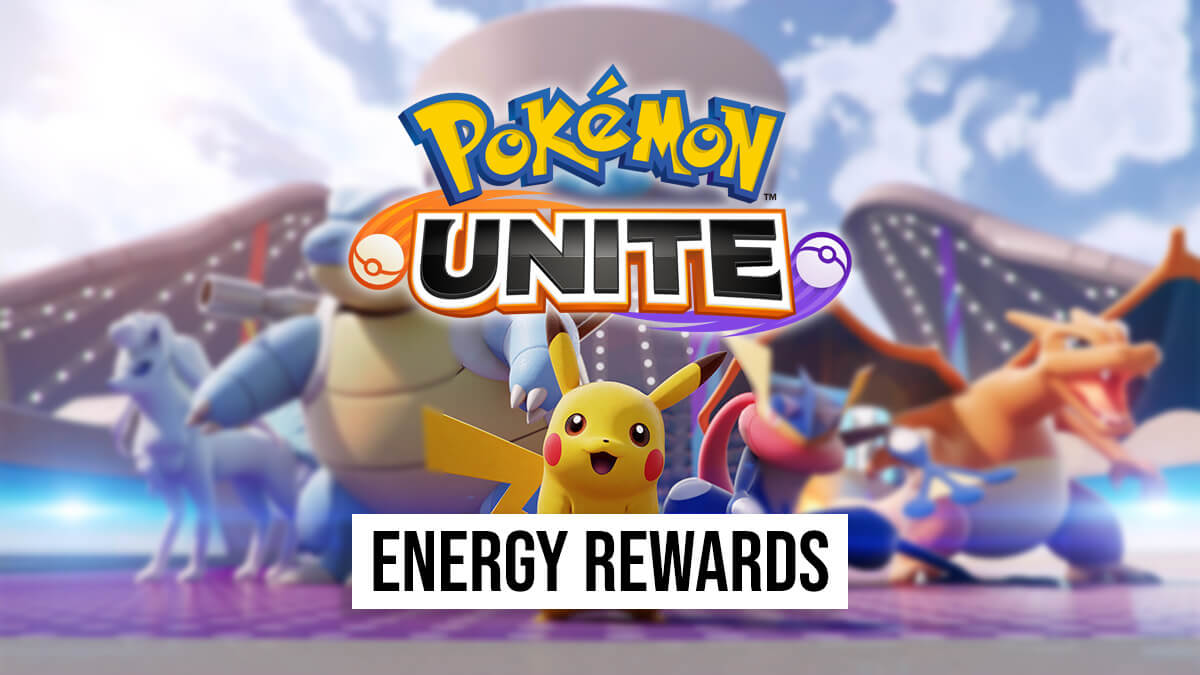 Energy rewards and their rates in Pokémon UNITE