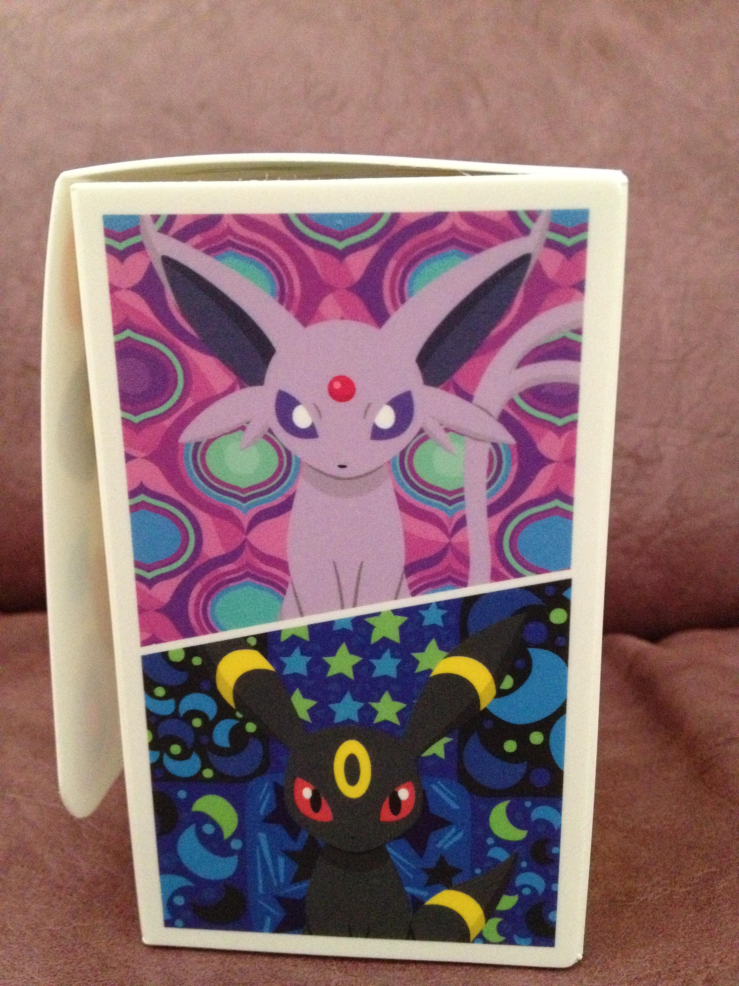Pokemon Center Eevee Deck Box Poke Kaiser