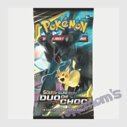 Booster Duo de Choc Pikachu Zekrom - Pokemoms
