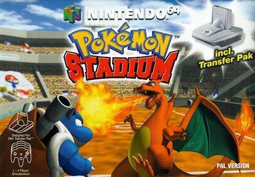 Pokémon Stadium Carátula