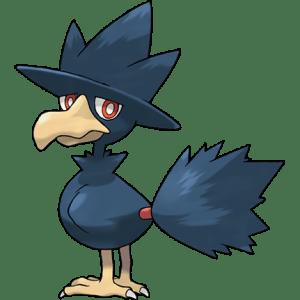 黑暗鴉   寶可夢圖鑑(Pokémon GO)  Pokémon-Info 寶可夢資訊站