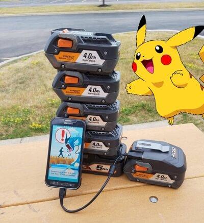 Pokemon Go battery drain issue solution