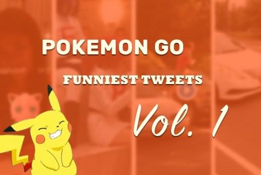 Pokemon Go funniest tweets, vol. 1