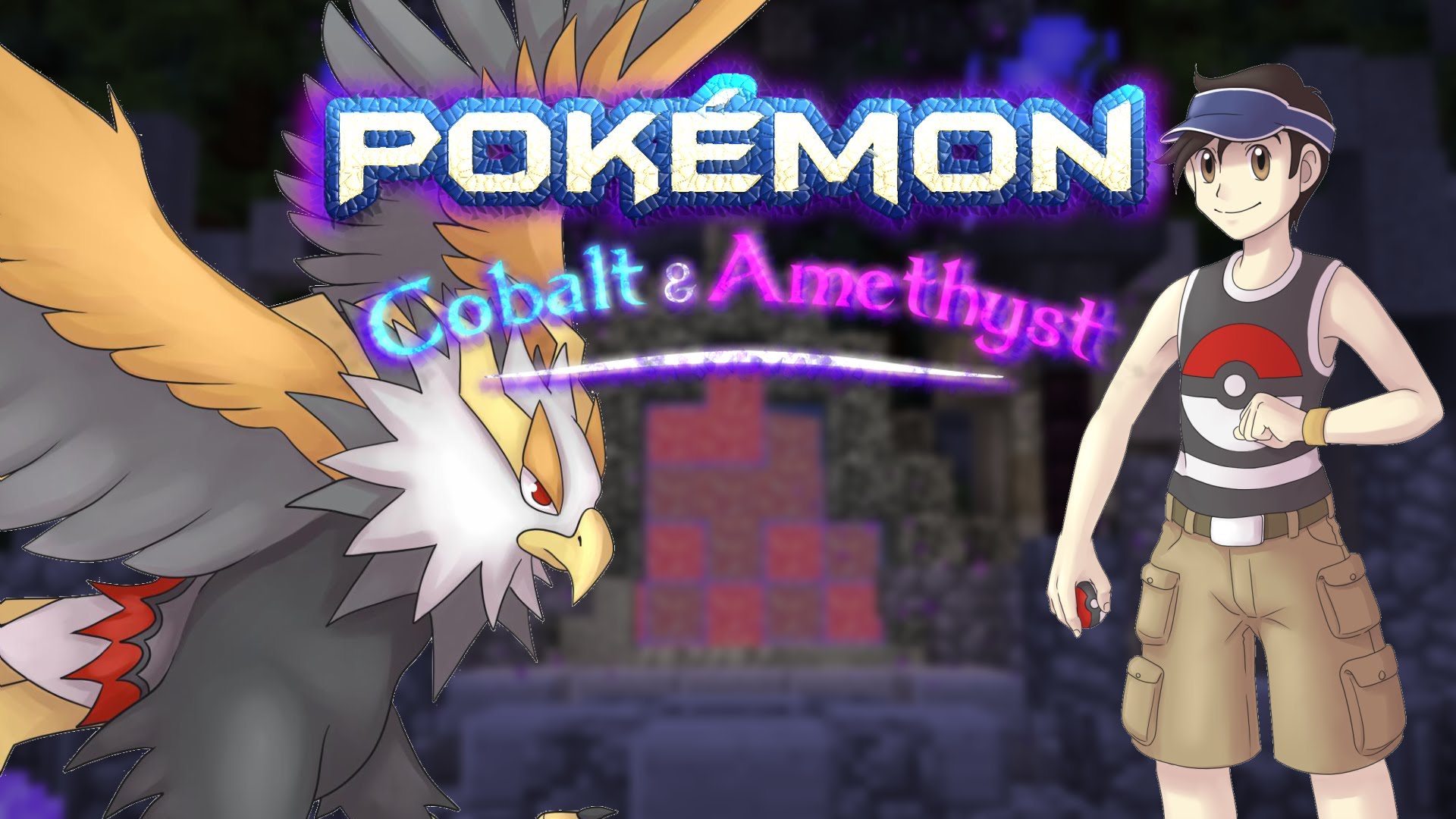 Playing Pokémon in Minecraft - Pokemon Cobalt and Amethyst |