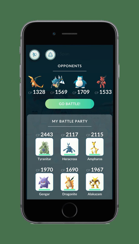 Pokemon GO Gym 5