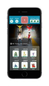 Pokémon GO Raid Lobby