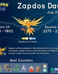 Zapdos day guide also lightning fast lazy mode edition pokemon go hub rh pokemongohub