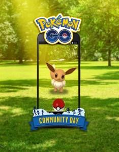 Eevee community day also days announced august and pokemon go hub rh pokemongohub