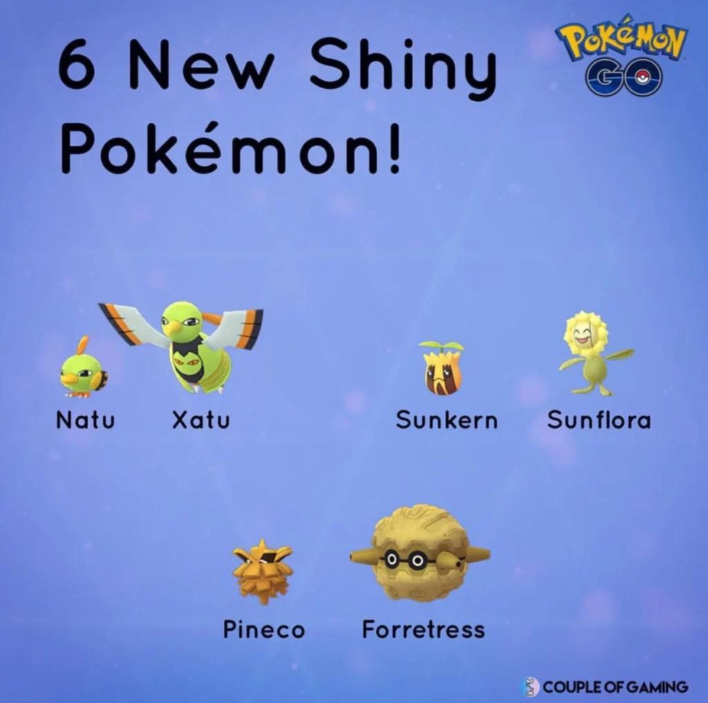 Johto Festival news roundup new raids new quests new shiny forms  Pokemon GO Hub