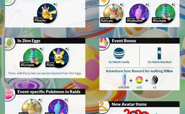 Adventure Sync Hatchathon 2020 Pokemon Go Hub